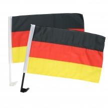 """Autofahne """"Deutschland"""", Deutschland-Farben/weiß"""