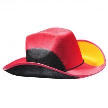 "Cowboyhut ""Nations - Germany"", schwarz/rot/gelb"
