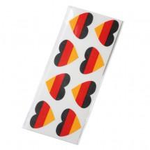 """Fantape """"Herz"""" 8er-Set, Deutschland im Beutel+Einleger"""