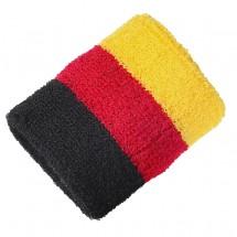 "Schweißband ""Nations - Germany"", schwarz/rot/gelb"