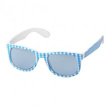 Spaßbrille Bavaria - blau/weiß