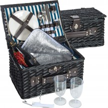 Picknick- Kühlkorb Riva del Garda - schwarz