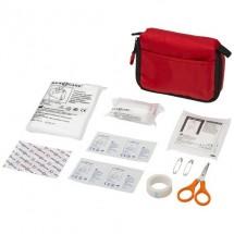 19 teiliges Erste Hilfe Set - rot