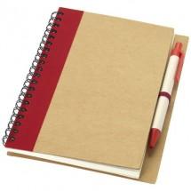 Priestly Notizbuch mit Stift - rot