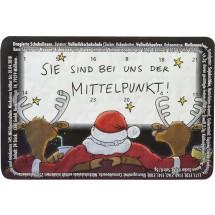 """Kleinster (Advents-)Kalender der Welt """"Standardmotive"""" Schokolinsen"""