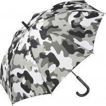 AC-Stockschirm FARE®-Camouflage - grau-kombi