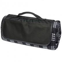 Park Picknickdecke aus Fleece mit Klettverschluss- schwarz