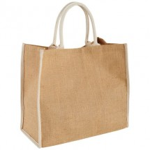 The Large Jute Tasche - natur