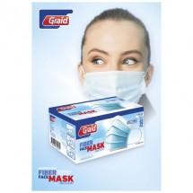 Moore Typ IIR Gesichtsmaske - hellblau