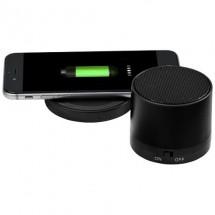 Cosmic Bluetooth®-Lautsprecher und kabelloses Ladepad- schwarz