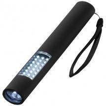 Magnet-Taschenlampe mit 28 LEDs - Schwarz