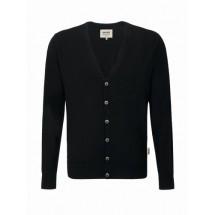 Cardigan Merino Wool-schwarz