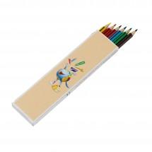 STAEDTLER Farbstiftetui aus WOPEX-Material - weiß