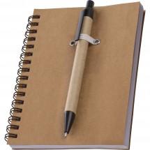 A6 Öko-Schreibblock Keystone - braun
