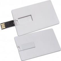 USB-Karte mit 8GB Speichervolumen - weiss