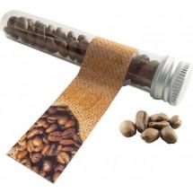 Reagenzglas Kaffee