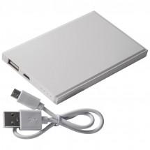 Powerbank 2200 mAh mit USB Anschluss - weiss