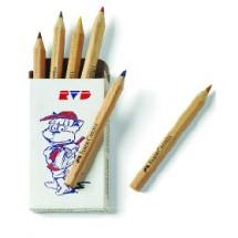 Kurzbuntstifte 6er Etui