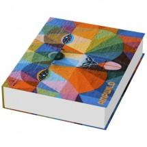 Combi Notiz-Set mit Hardcover- weiss