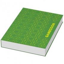Combi Notiz- und Markierungs-Set mit Softcover- weiss