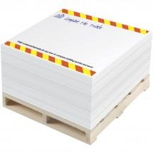 Pallet Block-Mate® 1C Notizblock - weiss