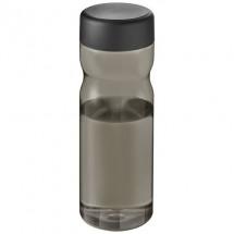 H2O Eco Base 650 ml Sportflasche mit Drehdeckel - kohle/schwarz