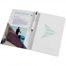 Essential Conference Pack A4 Notizbuch und Stift - weiss/schwarz