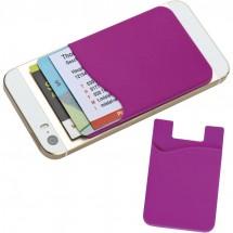 Smartphone Silikontasche - violett