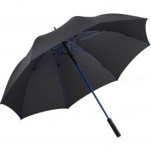 AC-Gästeschirm FARE®-Style - schwarz-euroblau