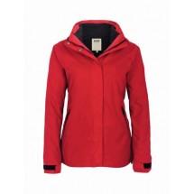 Damen-Active-Jacke Aspen-rot