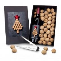 Geschenkset: Wein-Ge-Nüsse