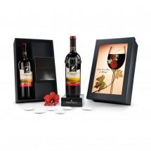Geschenkset: Modernes Weinthermometer