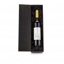 Geschenkset: Rotwein im schwarzen Geschenkkarton