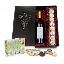 Geschenkset: Chocolate for wine