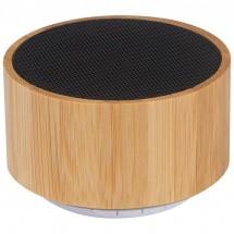 Bluetooth Lautsprecher mit Bambusummantelung - beige