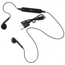 Bluetooth Headset in transparenter Verpackung - schwarz