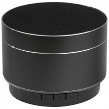 Bluetooth Lautsprecher aus Aluminium - schwarz