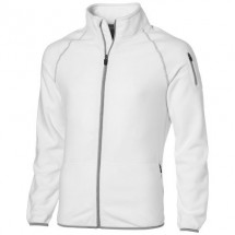 Drop Shot Fleecejacke - weiss