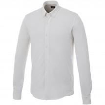 Bigelow langärmliges Hemd - weiss