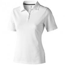Calgary Damen Poloshirt - weiss