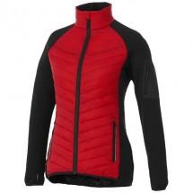 Banff Hybrid Damen Thermo Jacke - rot