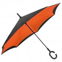 umgekehrter Regenschirm - orange