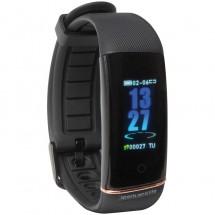 Smartes Fitness Armband - schwarz