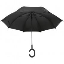Regenschirm Hände frei - schwarz