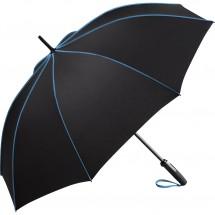 AC-Midsize-Stockschirm FARE®-Seam - schwarz-blau