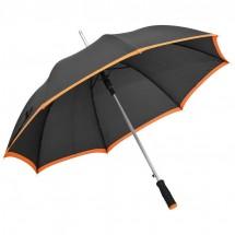Regenschirm aus Pongee, Automatik - orange