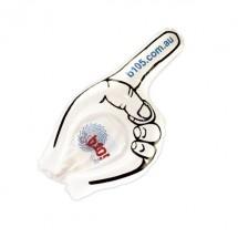 Winkehand-Zeigefinger