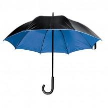 Luxuriöser Regenschirm - blau