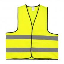 Sicherheitsweste Polyester XL - gelb