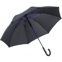 AC-Midsize-Stockschirm FARE®-Style - schwarz-euroblau